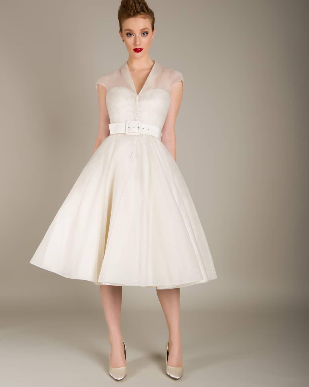 vestidos de novia vintage con encaje