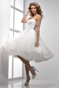 vestidos de novia modelos cortos