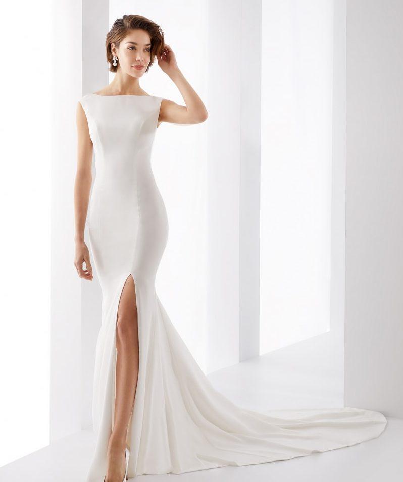 vestidos de novia sencillos vintage
