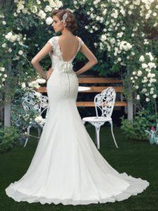 vestidos de novia con escote