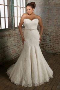 vestido de novia para gordita