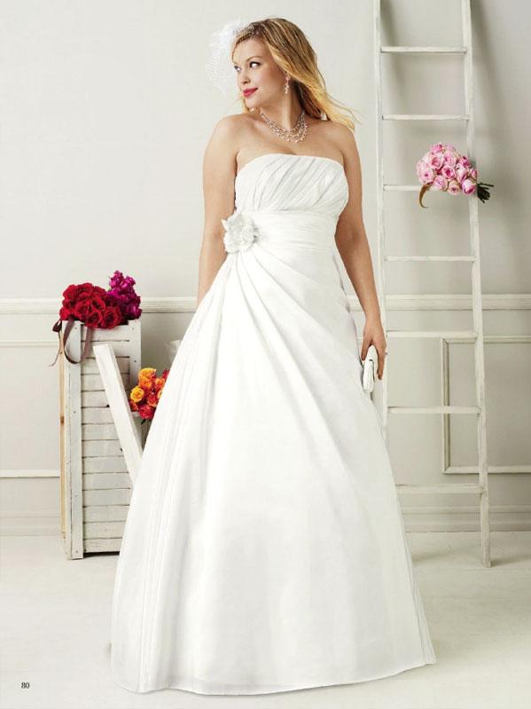 tallas grandes vestidos de novia
