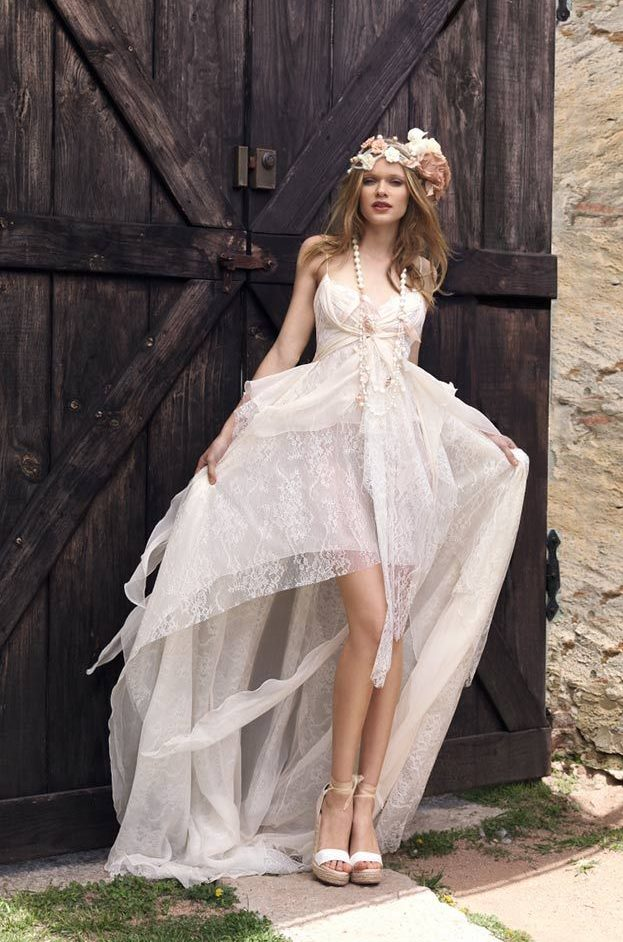 vestidos de novia hippie chic