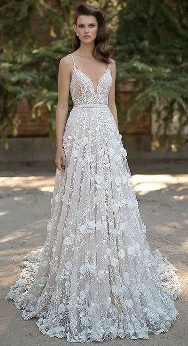 vestido de novia creativo moderno