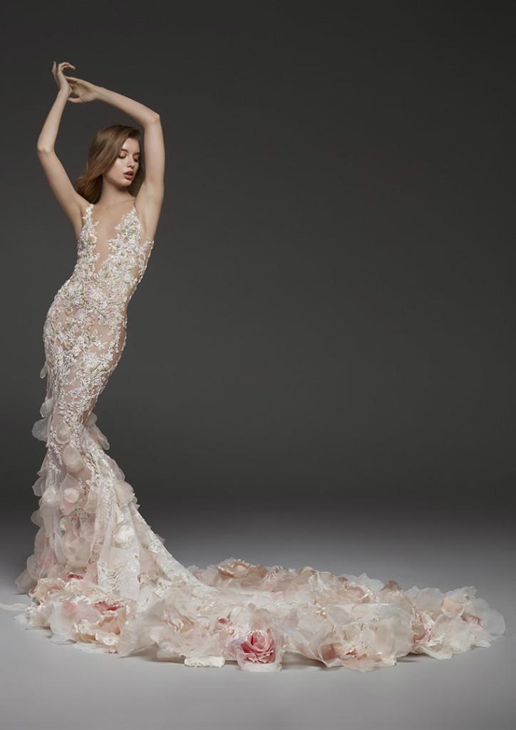 vestido de novia pronovias 2019