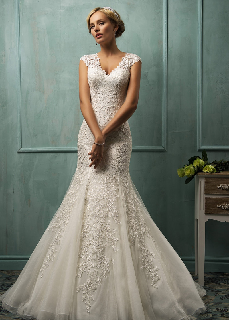 vestidos de novia sencillos modernos