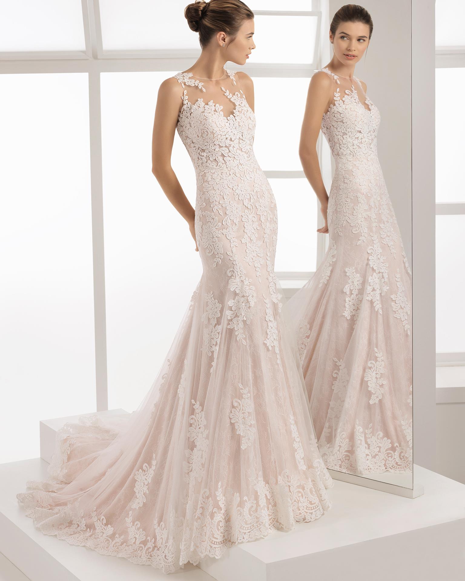 vestidos de novia marca aire barcelona