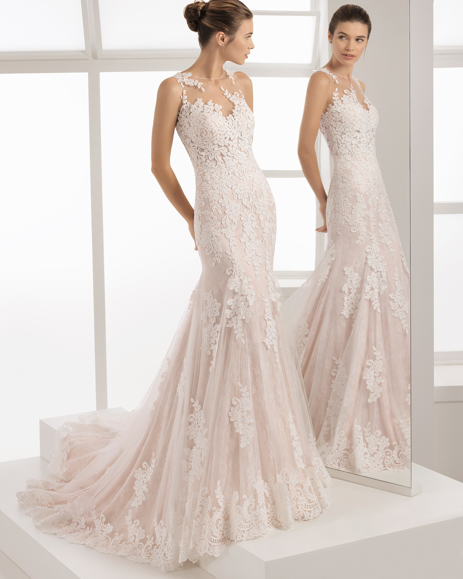 vestidos de novia aire barcelona