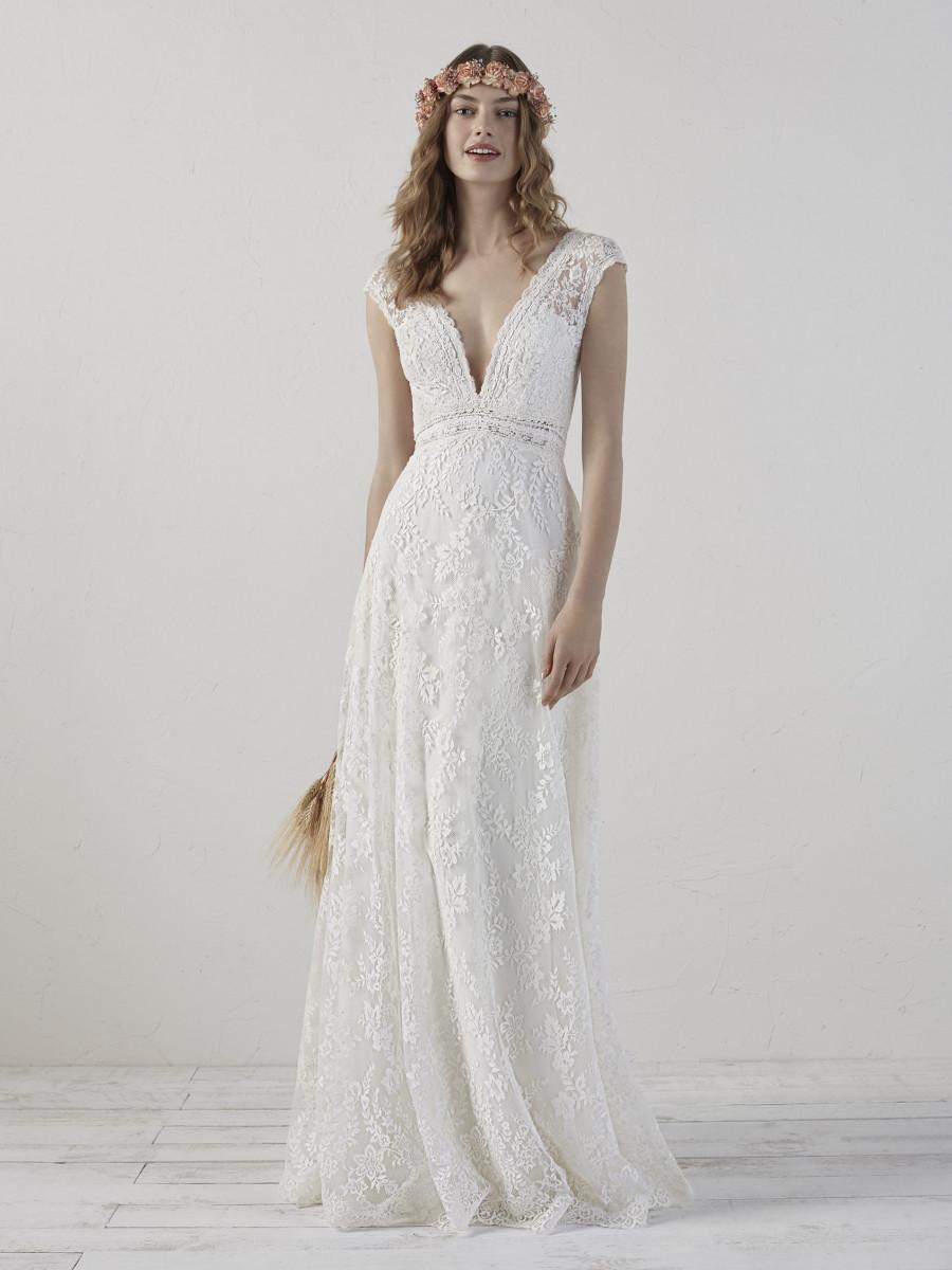 vestidos de novia bohemios y chic
