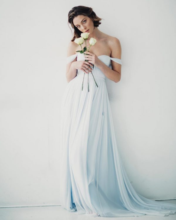 vestidos de novia original de colores
