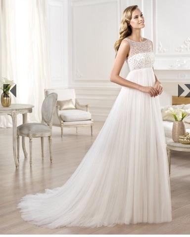 vestidos de novia modelos corte imperio