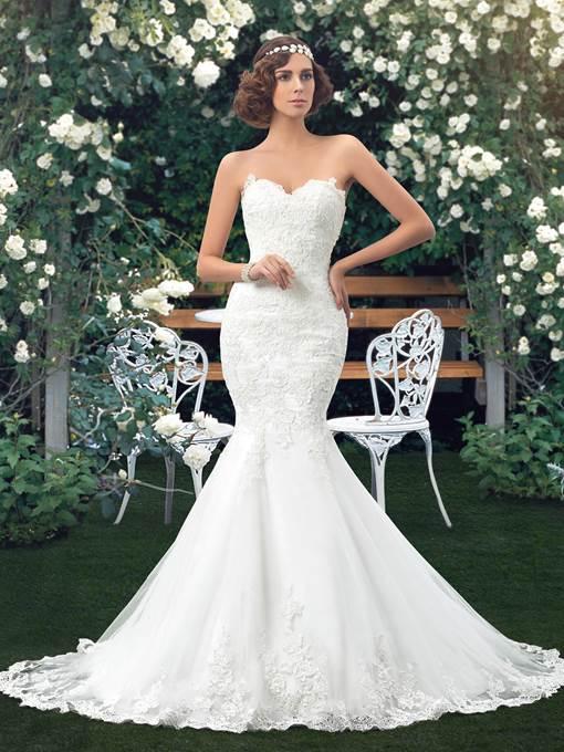 Los mejores vestidos de novia sirena