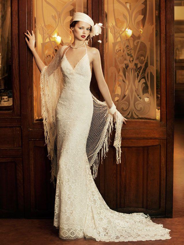 vestidos de novia de los años 20
