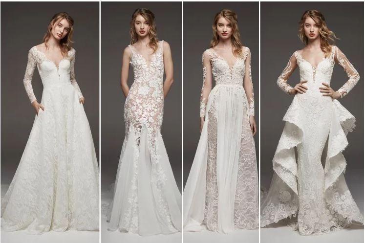 vestidos de novia elegantes pronovias