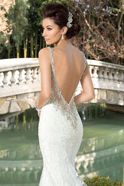▷ vestidos de novia espalda descubierta ¡tu mejor vestido de novia!