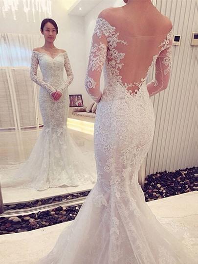 Vestidos novia con espalda al aire