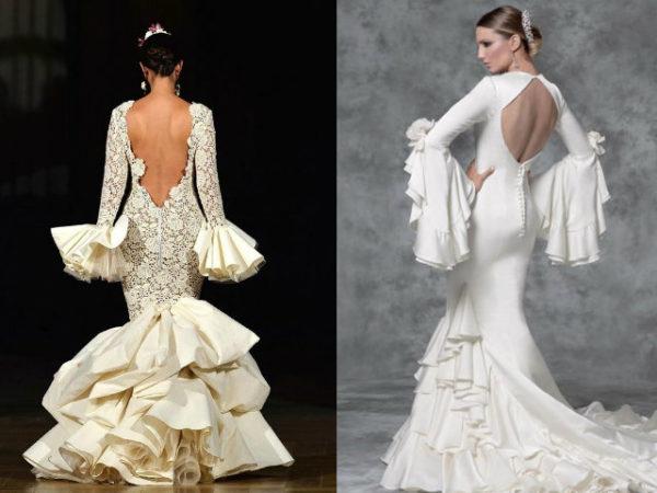 vestidos de novia flamencos boda