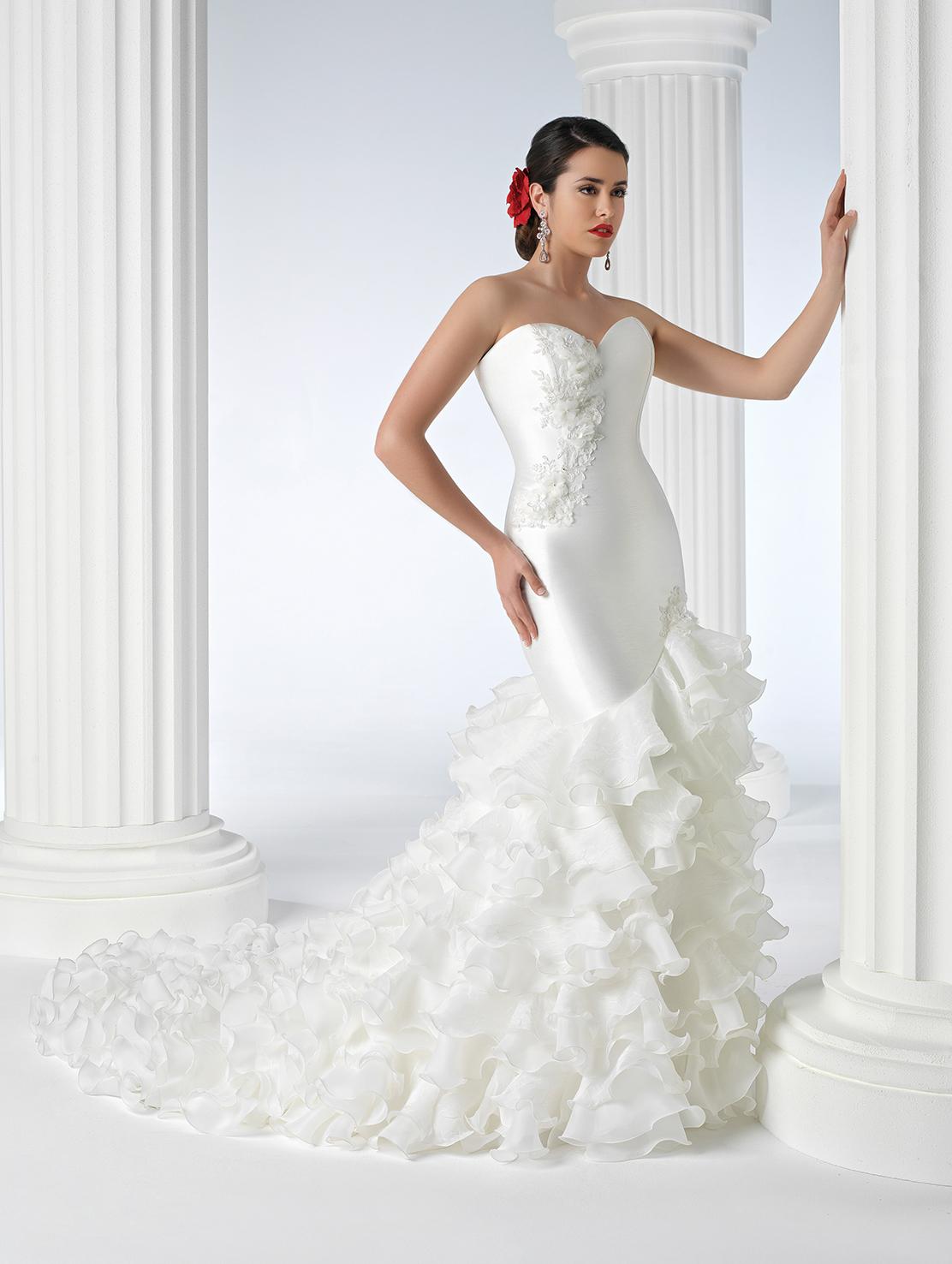 vestidos de novia flamencos modelos