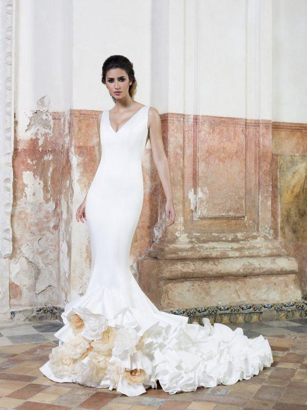 ▷ vestidos de novia flamencos ¡tu mejor vestido de novia!