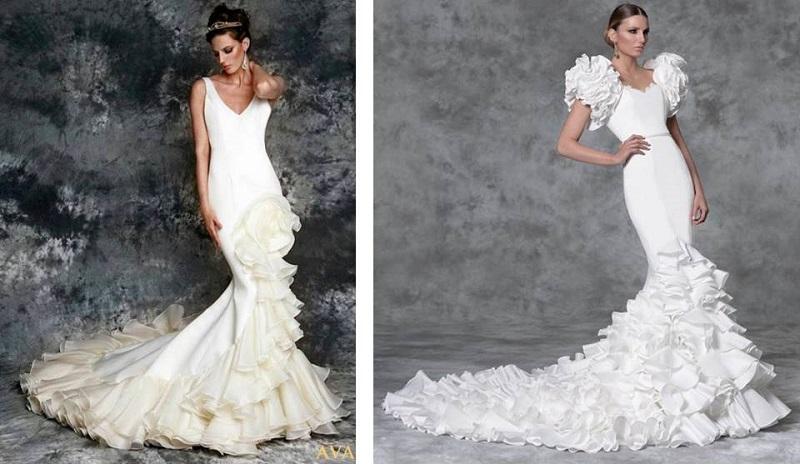 vestidos de novia gitana elegantes