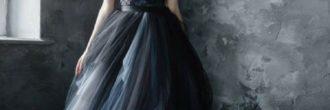 Vestidos de novia góticos
