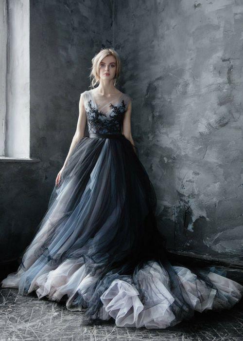 vestidos de novia goticos