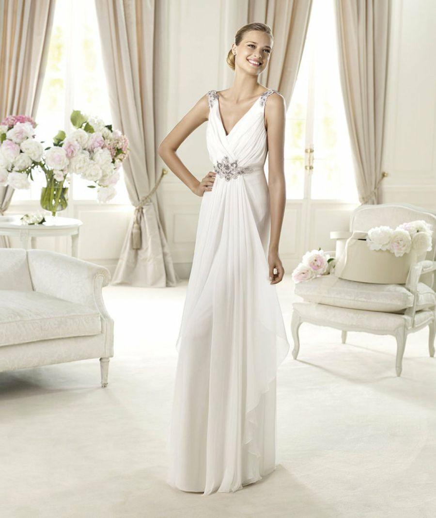 vestidos de novia griegos pronovias