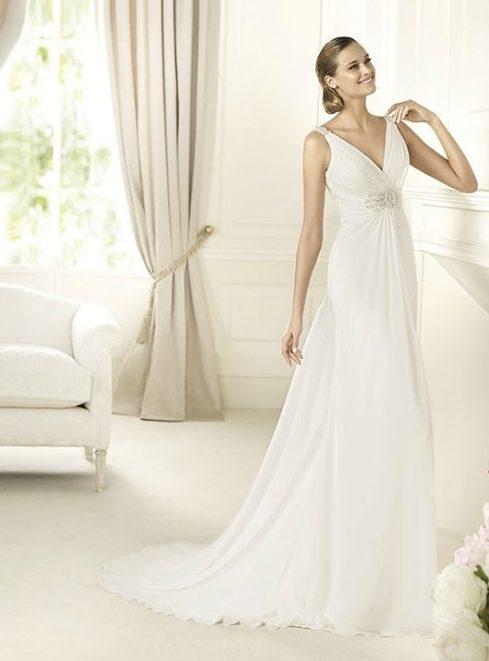 vestidos de novia griegos modelos