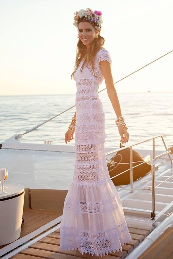 original de costura caliente nueva llegada compra especial ▷ Vestidos de novia Ibicencos ¡Tu mejor vestido de novia!