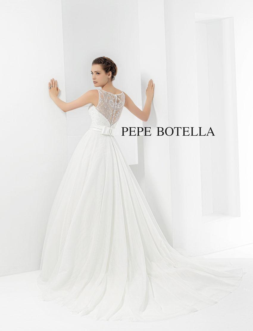 vestidos de novia pepe botella marca