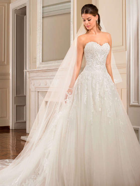 ▷ vestidos de novia palabra de honor ¡tu mejor vestido de novia!