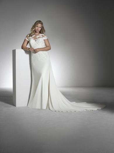 vestdios de novia para talla grande