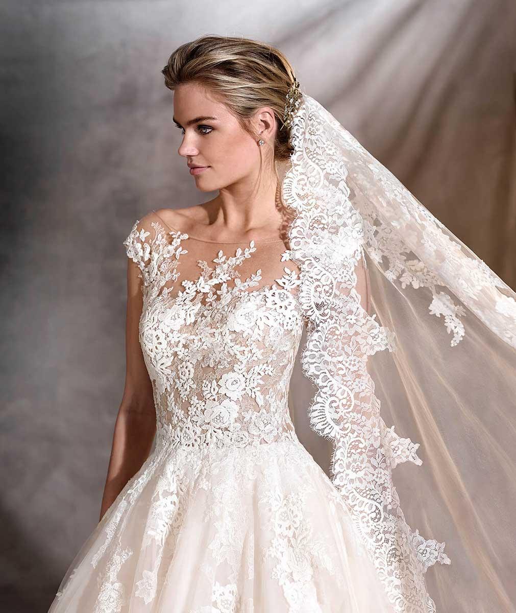 Precio de vestidos de novia pronovias