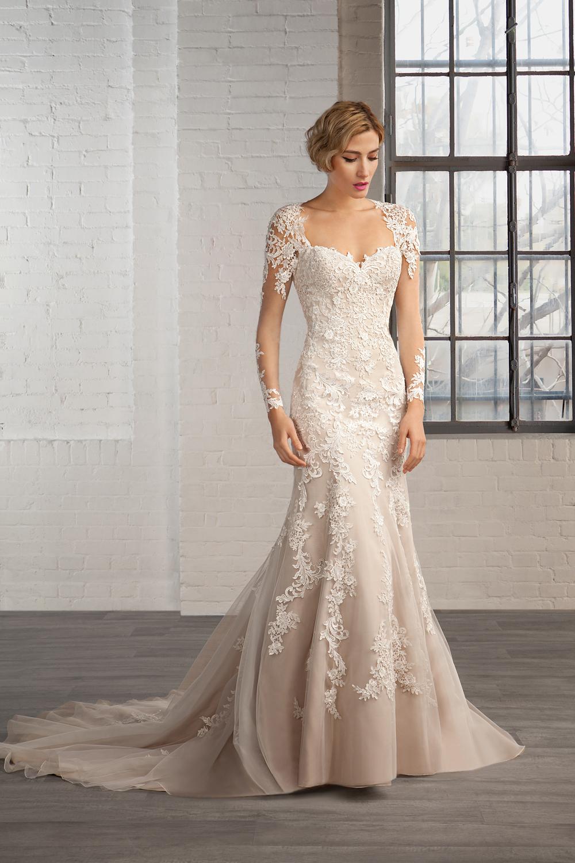 28521d487 ▷ Vestidos de novia románticos ¡Tu mejor vestido de novia!