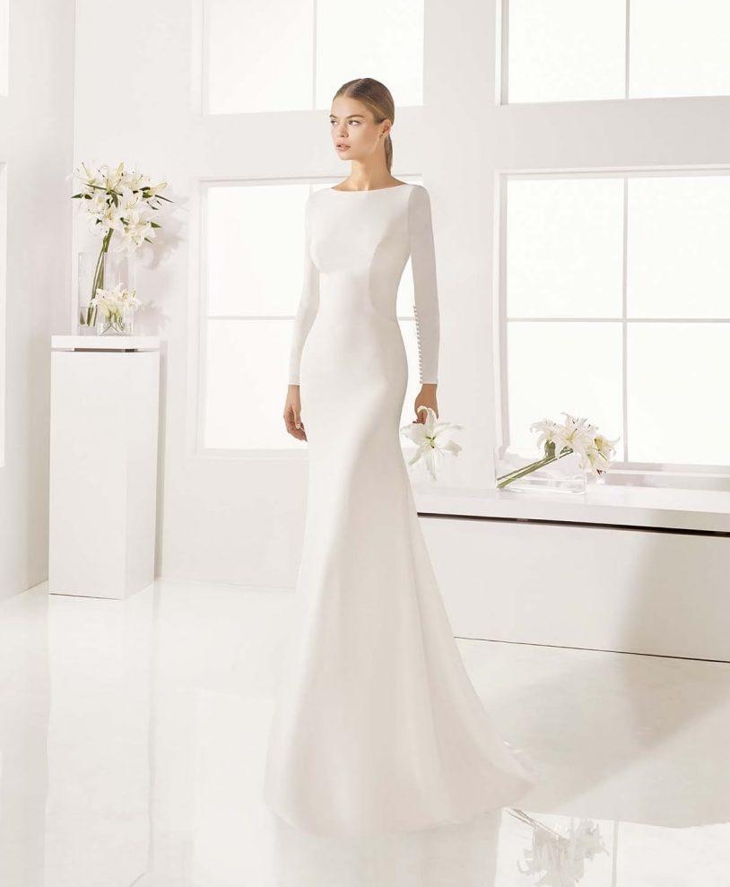 vestidos de novia modernos y romanticos