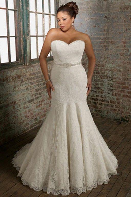 Vestidos de novias para mujeres gorditas y bajitas